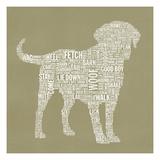 Dog Type 1A Giclée premium par Stella Bradley