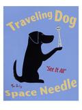 Traveling Dog  Space Needle