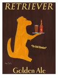 Golden Ale Giclée premium par Ken Bailey