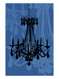 Chandelier 4 Blueberry