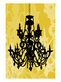 Chandelier 1 Yellow