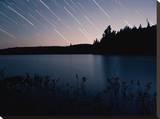 Star Trails at Head Lake  Algonquin Park Canada