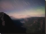 Star Trails & Northern Lights at 10 Mile Pond  Gross Morne  Canada