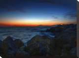 Sunset Rock Tableau sur toile par Dale MacMillan