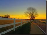 Walking towards Rye-Rye, NH Tableau sur toile par A.J. Messier