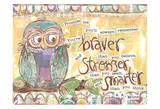 Pastel Owl Family 1 Braver Stronger Smarter