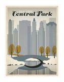 New York Central Park Giclée par Anderson Design Group