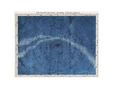 Astronomy Map Northern Constellations Reproduction d'art
