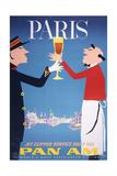 Pan Am - Paris Reproduction d'art