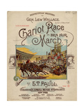 Chariot Race or Ben Hur March  Sam DeVincent Collection  National Museum of American History