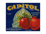 Warshaw Collection of Business Americana Food; Fruit Crate Labels  Paradise-Wenatchee Orchard Co