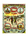 "Sheet Music Covers: ""New York and Coney Island Cycle March Two-Step"" Music"