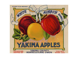 Warshaw Collection of Business Americana Food; Fruit Crate Labels  Yakima Horticultural Union