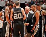 Miami  FL - JUNE 6 Head Coach Gregg Popovich of the San Antonio Spurs