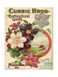 Currie Bros Horticultural Guide  Spring 1899