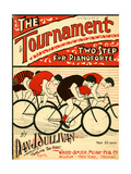 """Sheet Music Covers: """"The Tournament"""" Composed by Dan J Sullivan  1899"""