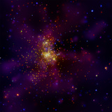 This Chandra X-ray Observatory Image Shows Westerlund 2  a Young Star Cluster