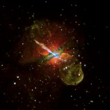 Seven Day Chandra Exposure  Centaurus A Reveals Effects of Supermassive Black Hole at its Center
