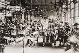 Women Working in Welding Department  Lincoln Motor Company in Detroit  Michigan During World War I