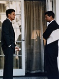 President John Kennedy with His Brother  Atty Gen Robert Kennedy  Ca 1961-63