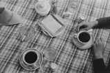 Restaurant Still Life of Coffee and Cigarettes Lufkin  Texas  April 1939