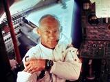 Apollo 11 Lunar Module Pilot Edwin Aldrin During the Lunar Mission  July 20  1969