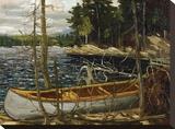 Thomson - The Canoe Tableau sur toile par Tom Thomson