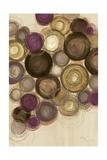 Purple Whimsy II Circles