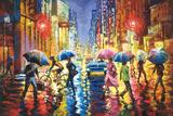 Lights in the Rain