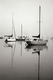 Red Sailboat I - BW
