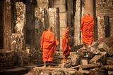 Monks at Bayon