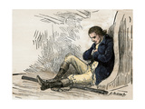 American Patriot Ethan Allen Imprisoned after His Capture in Montreal  1775-1778