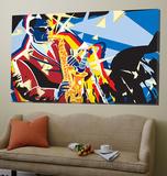 Saxo Flash Toile Murale Géante par Ray Lengele