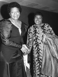 Maya Angelou  LaWanda Page 1988