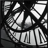 La grande horloge d'Orsay Tableau sur toile encadré par Tom Artin