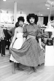 Debbie Allen, Phylicia Rashad Papier Photo par Moneta Sleet Jr.