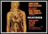 Goldfinger-Projection Tableau sur toile encadré