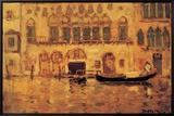 Vieux palais à Venise Tableau sur toile encadré par James Wilson Morrice