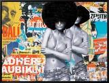 Bikinis Tableau sur toile encadré par Laurent Durrey