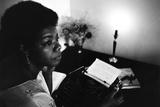 Maya Angelou Papier Photo par G. Marshall Wilson