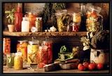 Légumes Tableau sur toile encadré