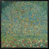 Apple Tree I, c.1912 Tableau sur toile encadré par Gustav Klimt