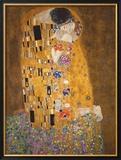 Le Baiser, vers 1907 Reproduction encadrée par Gustav Klimt