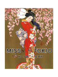 1920s USA Miss Tokio Magazine Advertisement