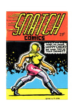 1960s USA Snatch Comics Comic/Annual Cover