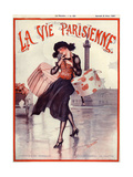 1920s France La Vie Parisienne Magazine Cover Giclée