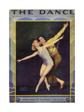 1920s USA The Dance Magazine Cover