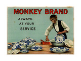 1910s UK Monkey Brand Magazine Advertisement
