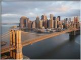 Pont de Brooklyn, New York Photo encadrée par Cameron Davidson