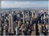 Gratte-ciels de Manhattan Photo encadrée par Cameron Davidson